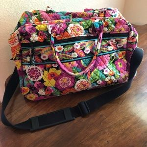 Vera Bradley Overnight Bag, large travel duffle